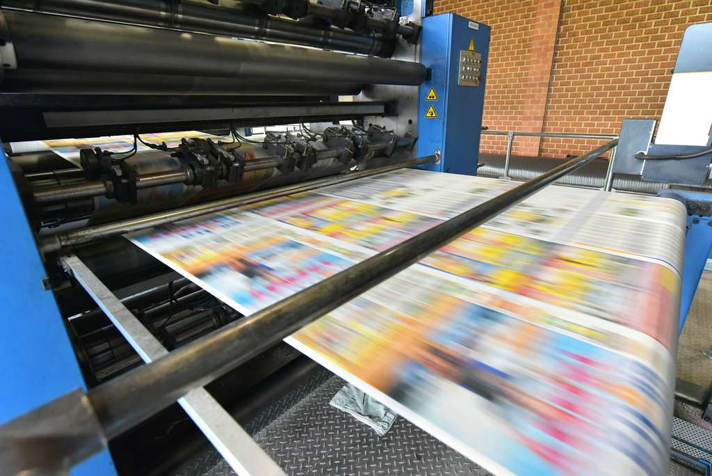 Parmi les avantages des imprimeries en ligne : elles sont accessibles de partout, par le biais de leur site internet. © industrieblick, Fotolia