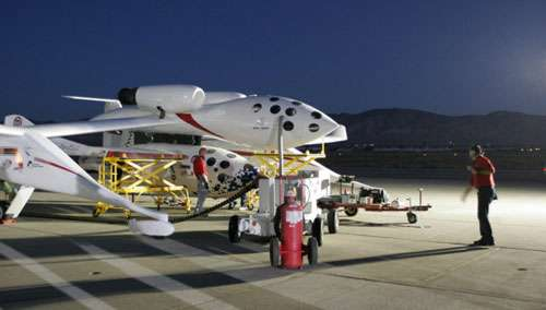 Second vol suborbital de SpaceShipOne