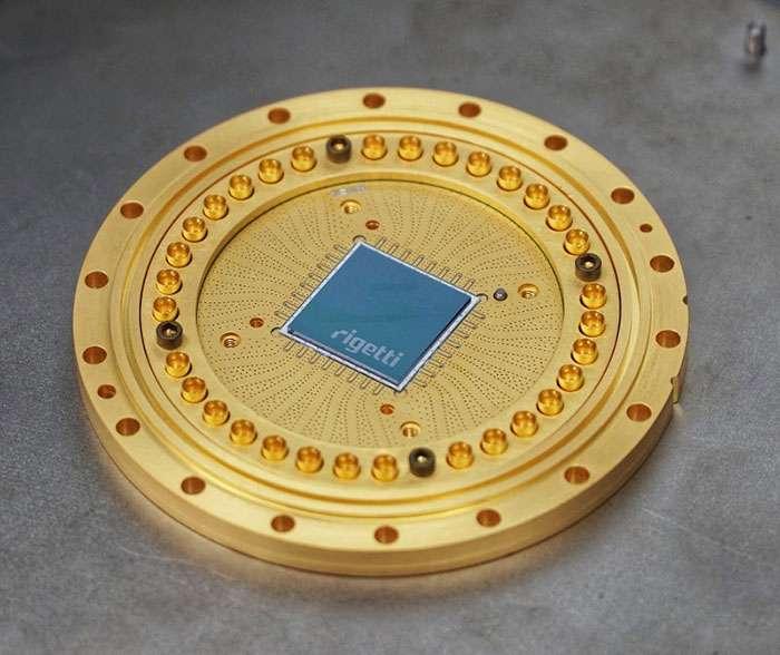 Le processeur quantique de Rigetti, 19Q. © Rigetti