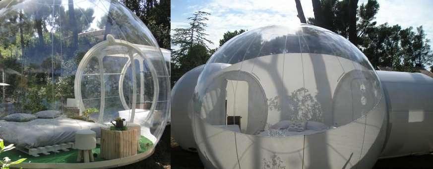 L'hôtel Attrape'Rêves, dormir dans une bulle au milieu des arbres