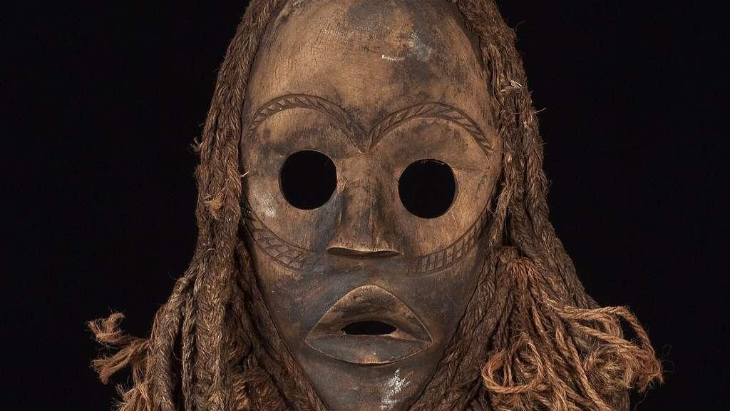Masque dan de Côte d'Ivoire