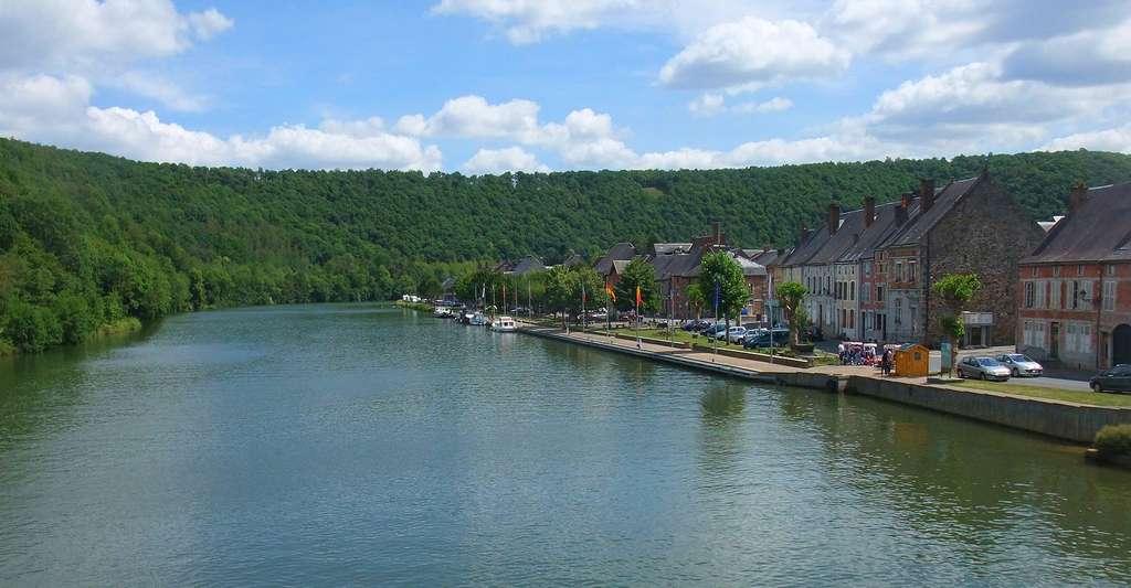 La Meuse à la hauteur de Fumay. © Siego, Wikimedia, CC by-sa 3.0