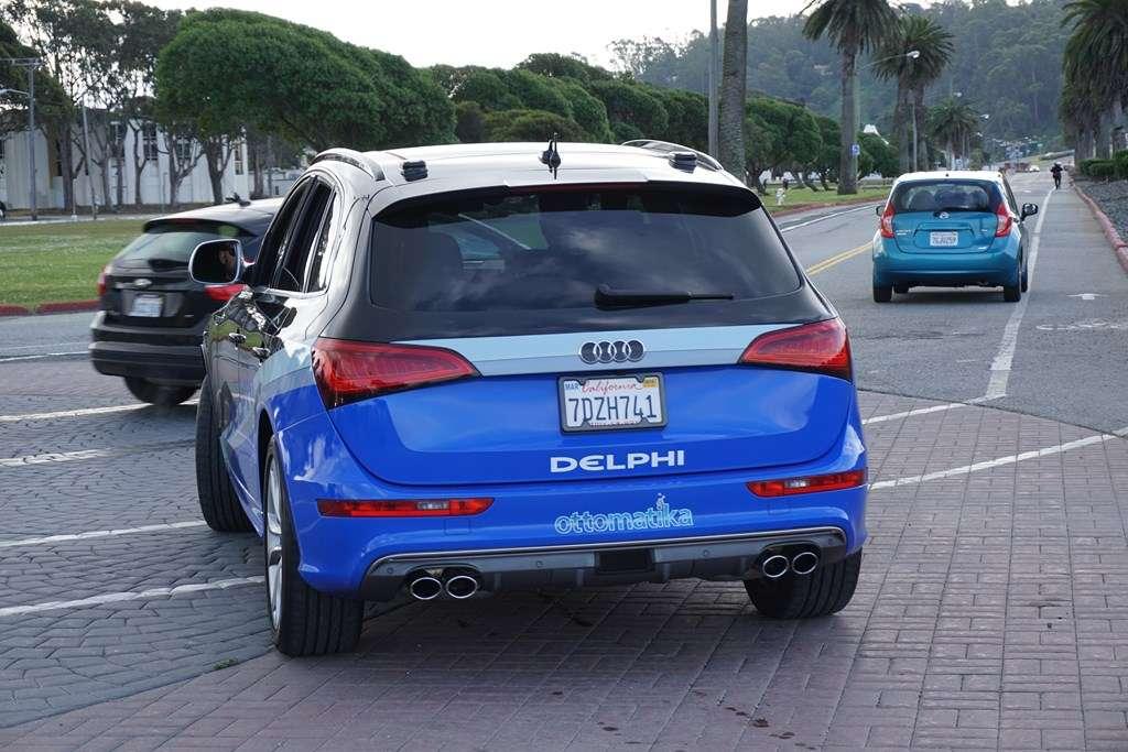 L'équipementier Delphi travaille lui aussi sur la technologie pour la voiture autonome en partenariat avec Audi. L'un de ses prototypes a récemment effectué une traversée des États-Unis entre San Francisco et New York. © Delphi Automotive