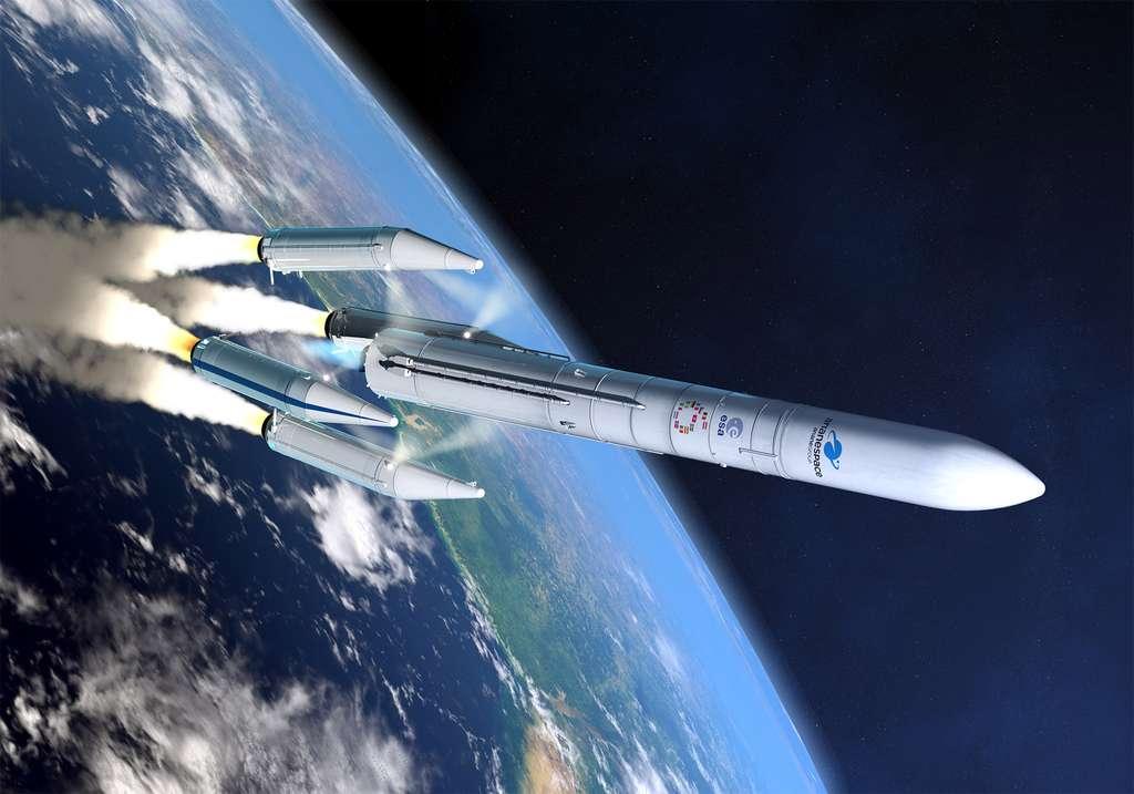 Ariane 6 est le lanceur tout indiqué pour les missions lunaires de l'ESA. © ArianeGroup