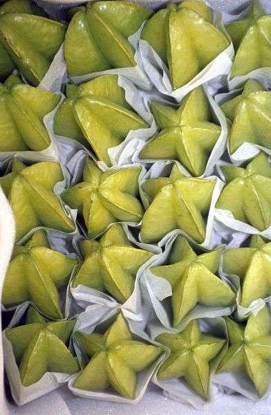 Les caramboles, ces fruits en forme d'étoiles