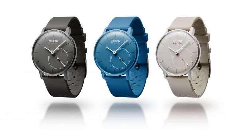 Avec sa montre connectée, Activité Pop, la société française Withings a reçu les éloges de la presse internationale. Elle sera disponible fin janvier. © Withings
