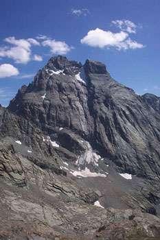 Face nord du Mont Viso, depuis le col Vallante. © Aleks, CC by-nc 2.0