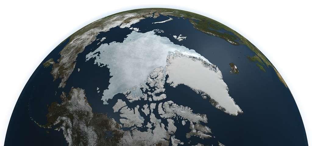 Mesurer les températures moyennes sur la planète reste une tâche complexe. Les lieux de mesure doivent être variés et suffisamment révélateurs, et on doit pouvoir y effectuer des mesures dans le temps. Une difficulté telle qui constitue peut-être un biais dans les mesures expliquant les divergences entre les prévisions et les mesures. Cependant, bien qu'en période de pause climatique, la fonte des glaces est toujours de plus en plus importante. © Nasa Goddard Photo and Video, Flickr, cc by 2.0