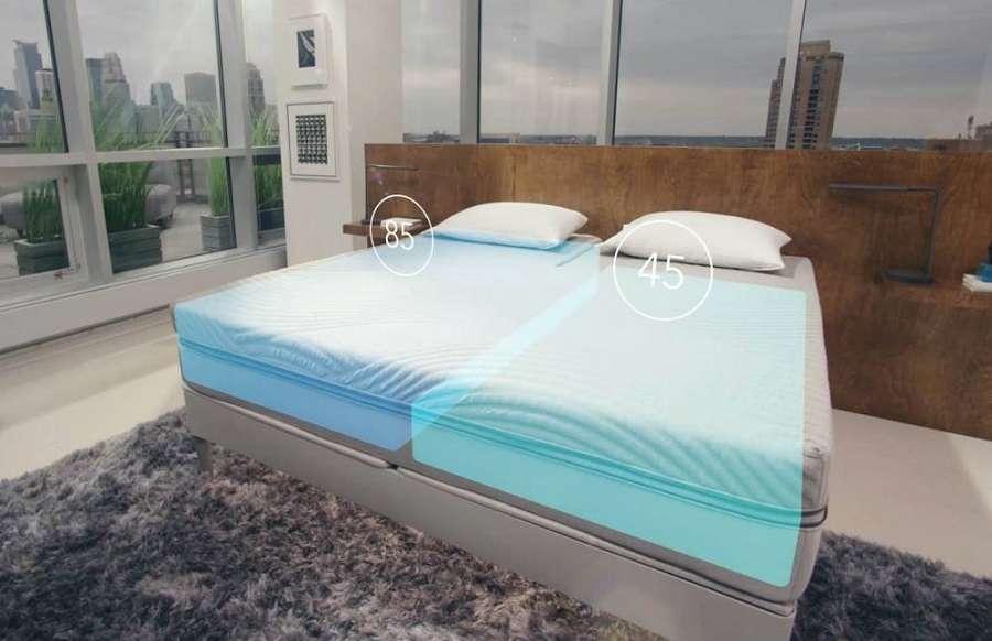 Le matelas intelligent 360 Smart Bed vous aide à lutter contre les ronflements. © Sleep Number