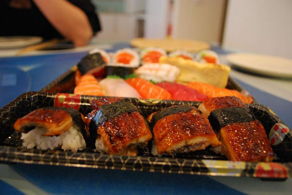 Les anguilles du Japon sont très appréciées dans la gastronomie. © avlxyz, Flickr, cc by sa 2.0