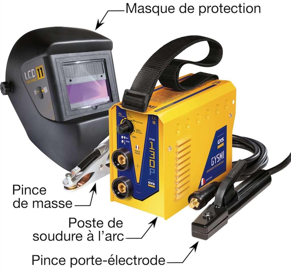 Le poste onduleur, ou Inverter, intègre une régulation électronique. Il représente la dernière génération de sa famille d'appareils. © Outillage Francilien