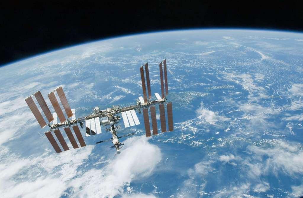 Une vue de la Station spatiale. © Nasa