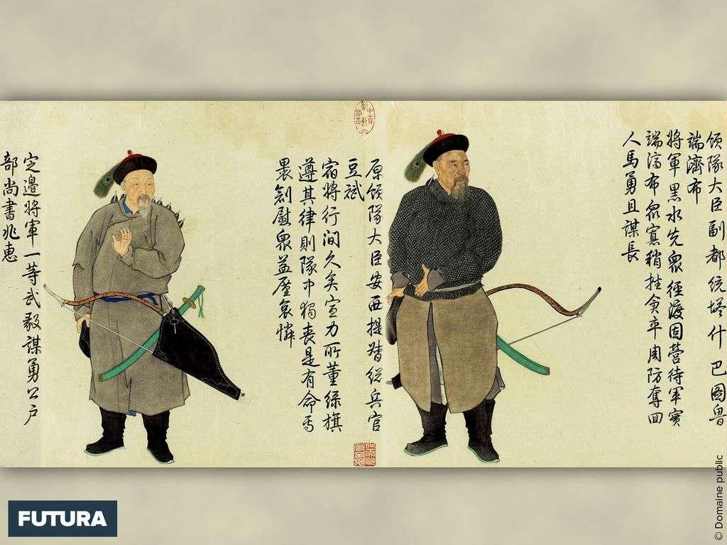 Soldats de la Dynastie Qing - Chine