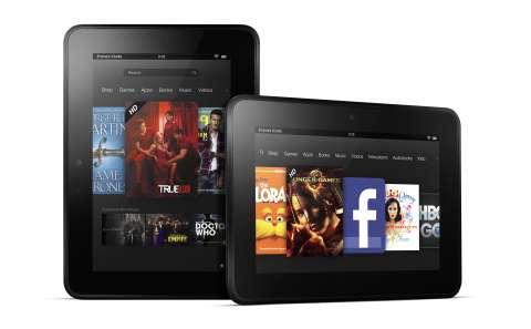 La Kindle Fire HD est déclinée en version 7 et 8,9 pouces pour mieux s'attaquer aux tablettes Android concurrentes, à l'iPad et au probable « iPad mini » qu'Apple pourrait annoncer d'ici la fin de l'année. © Amazon