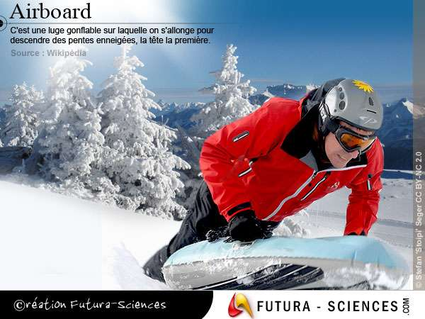 Luge airboard