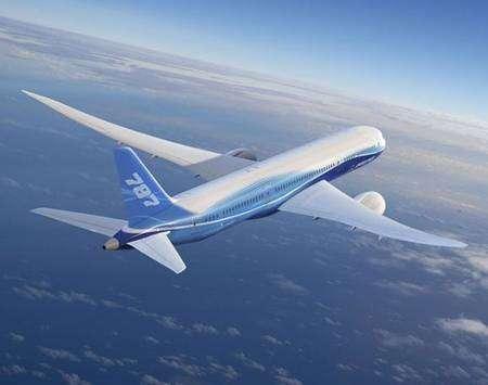 Le Boeing 787 (Vue d'artiste). Crédit Boeing