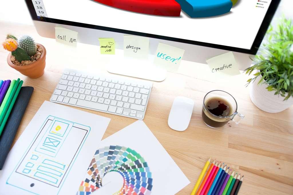 Sur Internet, de nombreux outils gratuits permettent de faciliter la vie des créateurs d'entreprise. © REDPIXEL, Adobe Stock