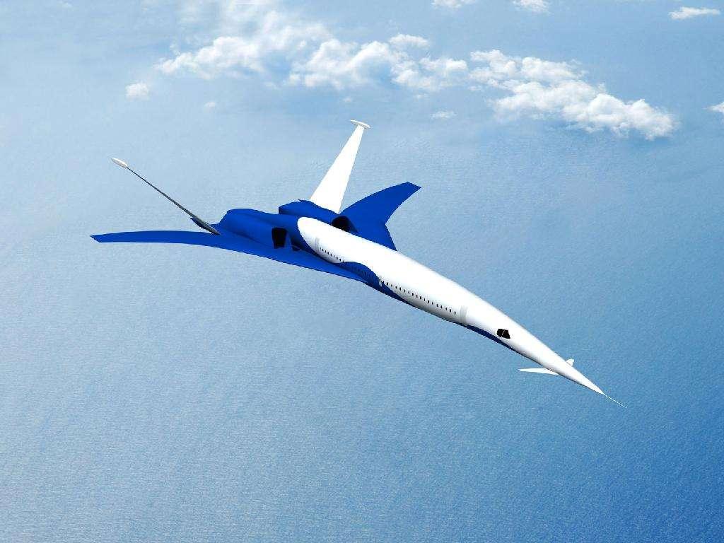 Icon-II, le Boeing supersonique silencieux