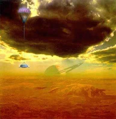 Huygens sur Titan