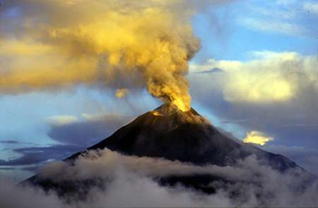 Equateur : Eruption du Tungurahua