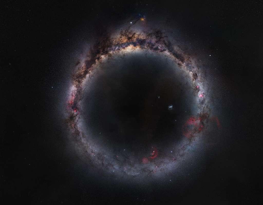Il aura fallu au photographe Zhong Wu près de deux années pour obtenir cette image époustouflante de « L'anneau laiteux » de notre Galaxie. © Zhong Wu, Astronomy Photagrapher of the Year 2021