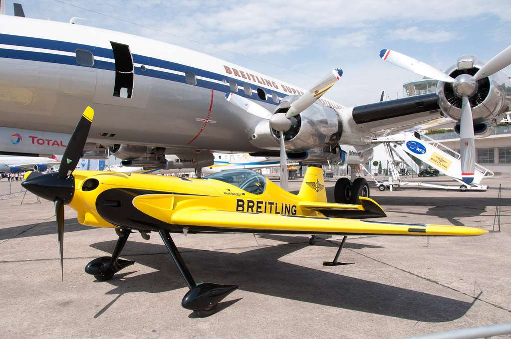 Le XA 41, un avion de haute voltige