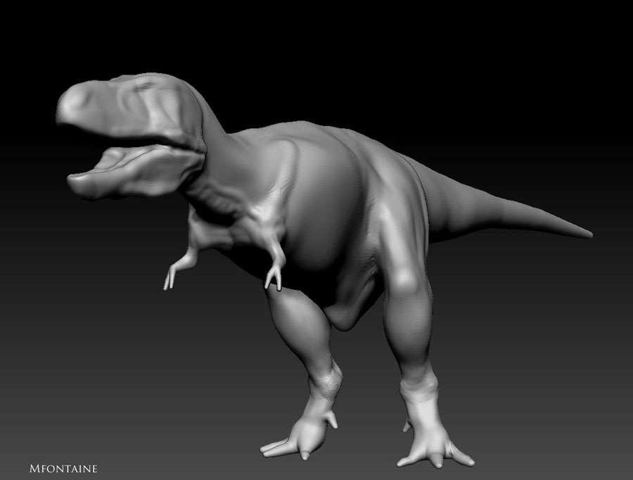 Tyrannosaurus ou Trex