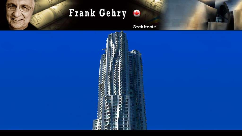 Le 8 Spruce Street à New York, par Frank Gehry