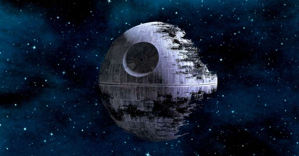 L'Étoile de la Mort. © Star Wars, Lucasfilm Ltd