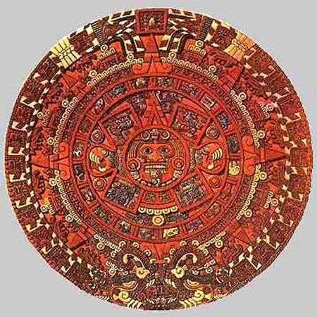 Pierre du Soleil aztèque. © DR