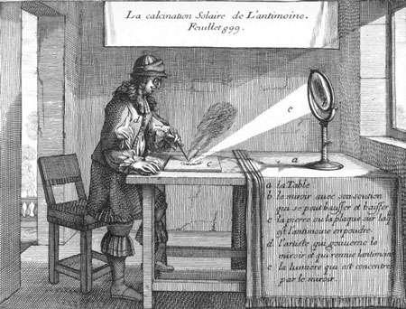 1676 Calcination antimoine