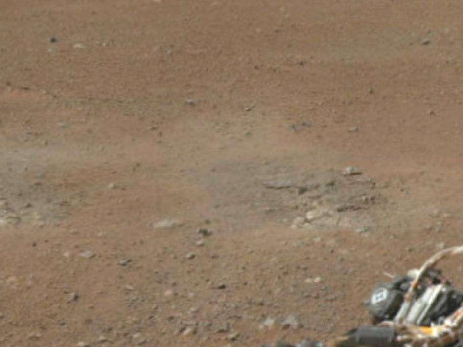 Le sol martien en couleur