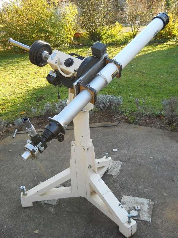 L'un des huit coronographes que les astronomes professionnels vont disséminer dans le monde pour suivre le transit de Vénus le 6 juin 2012. © Observatoire de Paris