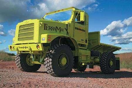 L'imposant TerraMax. Crédit DARPA.