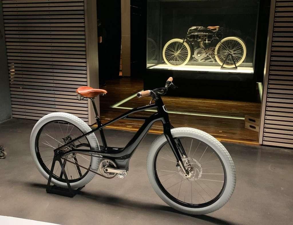 Le Serial 1 puise son inspiration de la toute première Harley née en 1903. © Serial 1 Cycle