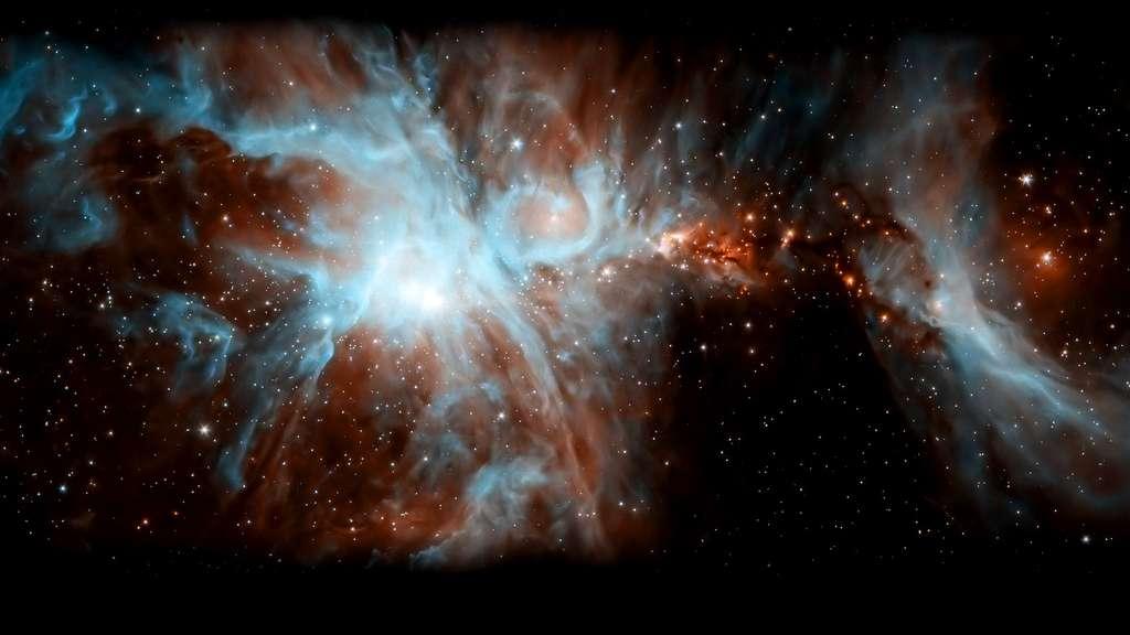 La magnifique nébuleuse d'Orion, dans la Voie lactée