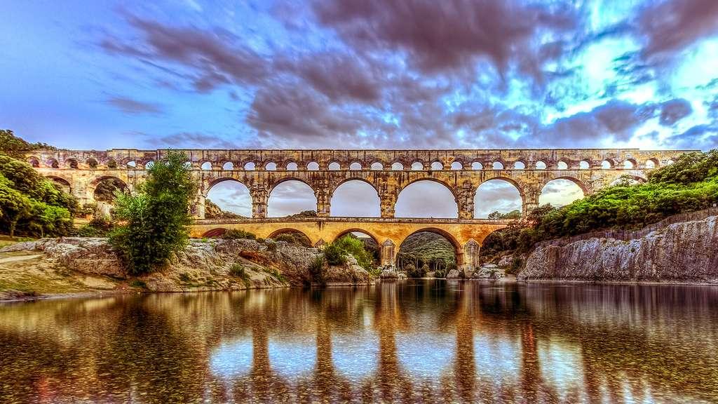 Le pont du Gard, un spectaculaire aqueduc romain