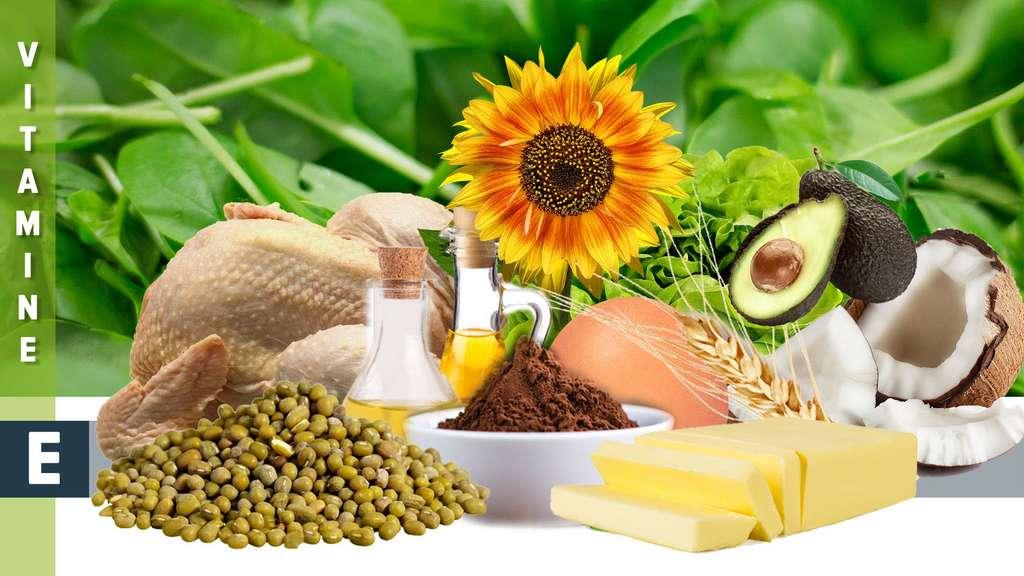 La vitamine E, une famille de huit molécules essentielles