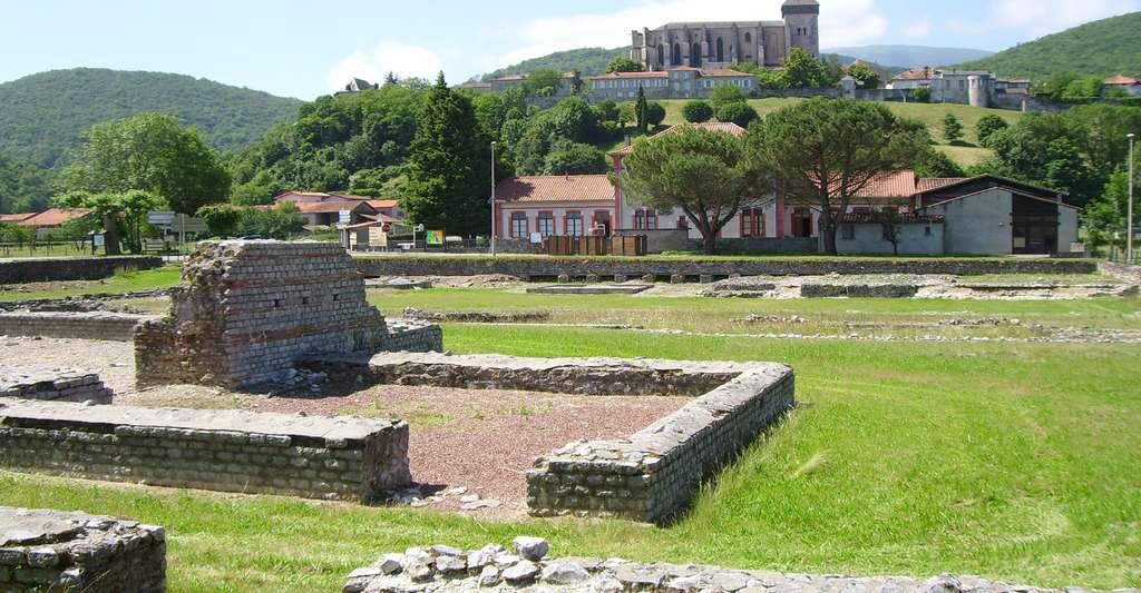 Lugdunum Convenarum : les thermes du forum. © Fifistorien, Wikimedia, DP