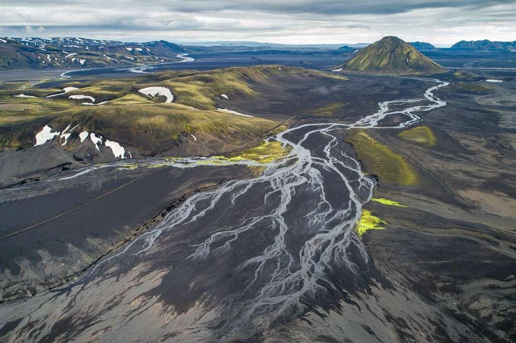 L'Islande vue du ciel : aux portes de Fjallabak
