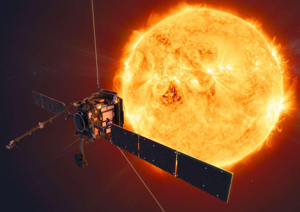 La sonde Solar Orbiter, développée par la Nasa et l'agence spatiale européenne, partira de Cap Canaveral en février 2020. © ESA, ATG medialab