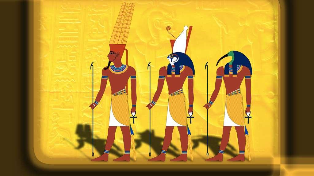 Horus, le dieu faucon