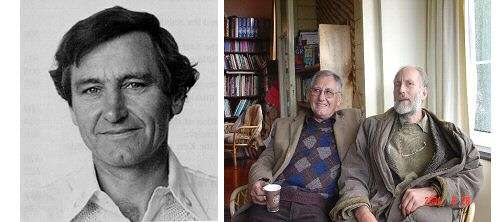 Roy Kerr - À gauche Roy Kerr, à droite Brandon Carter. © DR