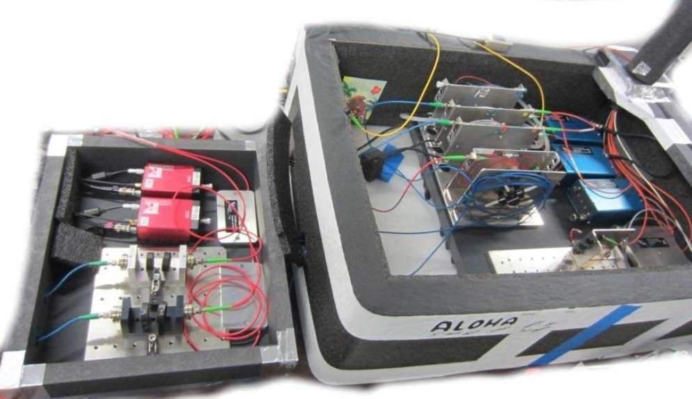 L'instrument mis au point s'appuie sur une nouvelle technique hybride de détection de la lumière. Ici, une image du prototype. © François Reynaud