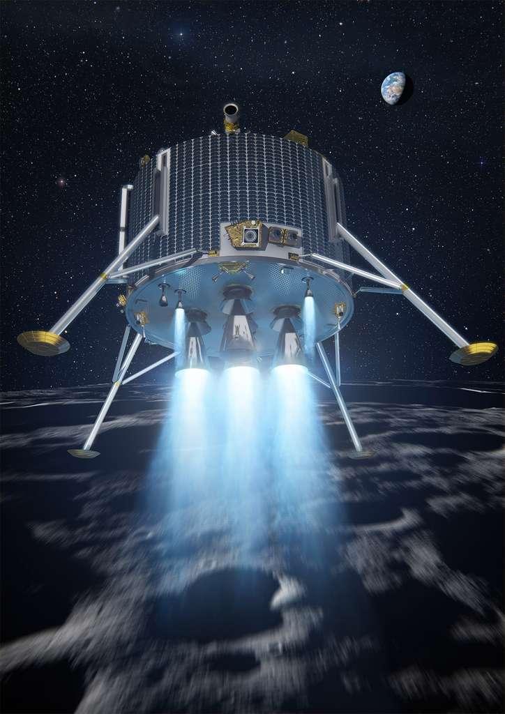 Le projet de l'Esa d'un atterrisseur lunaire a été abandonné en 2012 mais le travail réalisé n'a pas été perdu. Il a par exemple été utilisé pour ExoMars et, aujourd'hui, l'Esa l'utilise pour la mise au point du système d'alunissage Pilot. © Esa