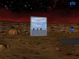 Différents mondes peuvent être reliés entre eux par des portails. © DR