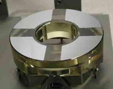Le miroir primaire de 105 mm de l'instrument EUVI