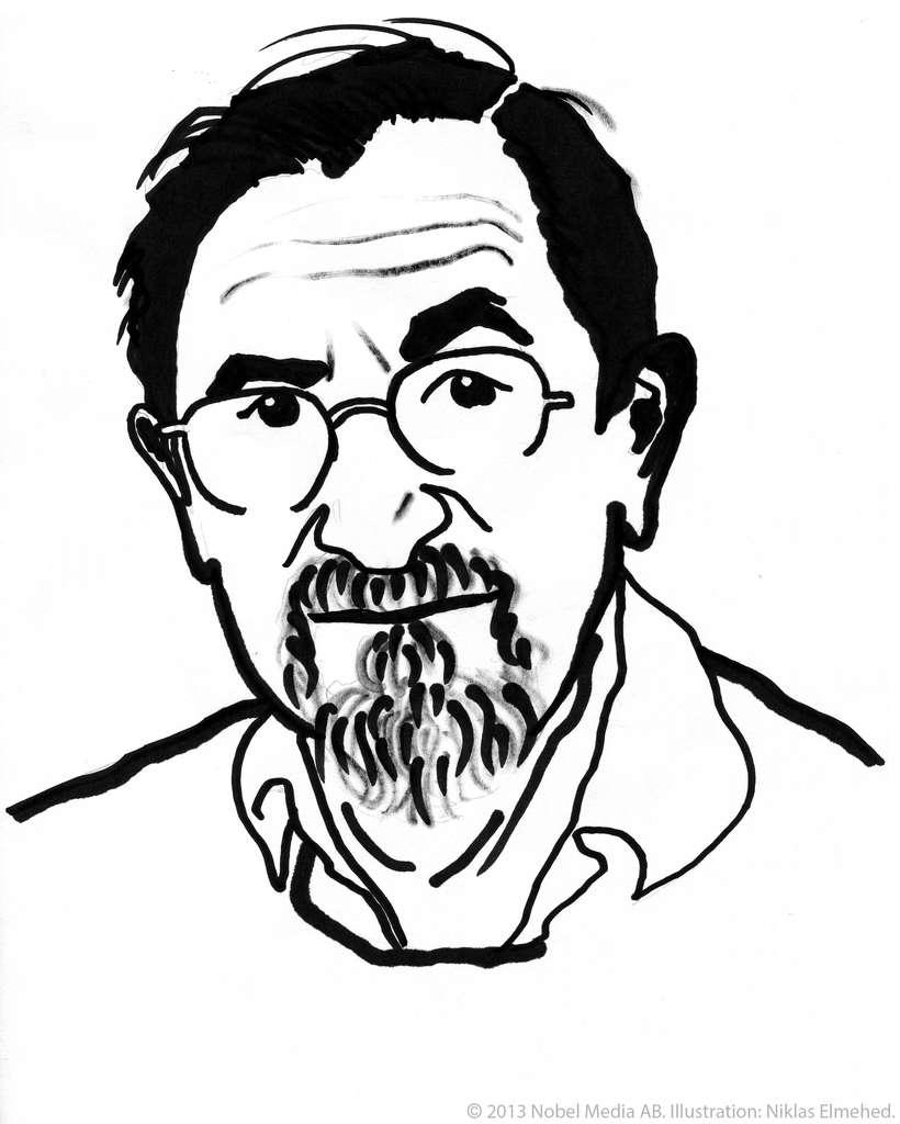 Les lauréats 2013 du prix Nobel ont été récompensés pour leurs travaux sur la modélisation des processus chimiques. De gauche à droite, l'Austro-Américain Martin Karplus, l'Américano-Britannique Michael Levitt et l'Israélo-Américain Arieh Warshel. © Photo de gauche : Nobel Media AB ; au centre, Keilana, Wikimedia Commons, DP ; à droite, Catgunhome, Wikimedia Commons, cc by sa 3.0