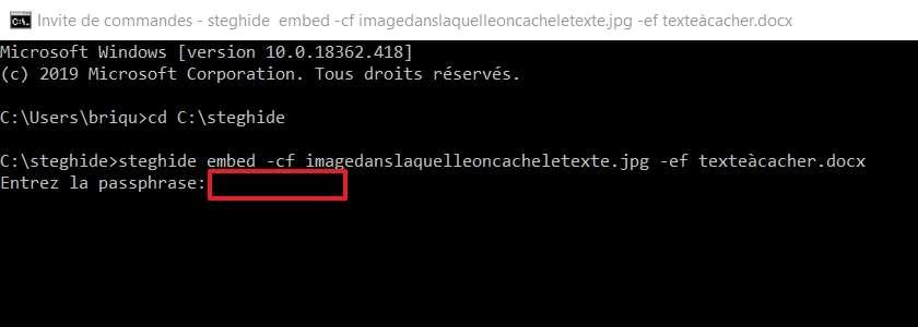 Protégez vos informations avec un mot de passe. © Microsoft