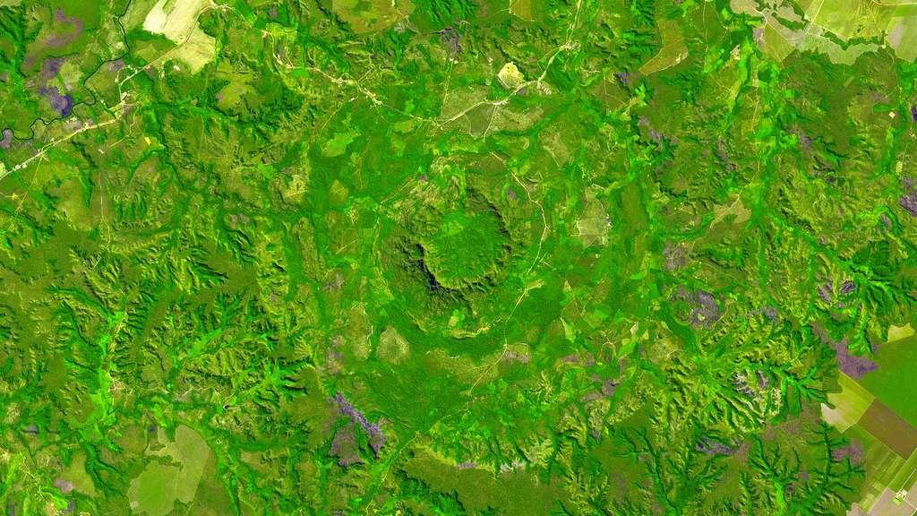 Le cratère de Serra da Cangalha, au Brésil